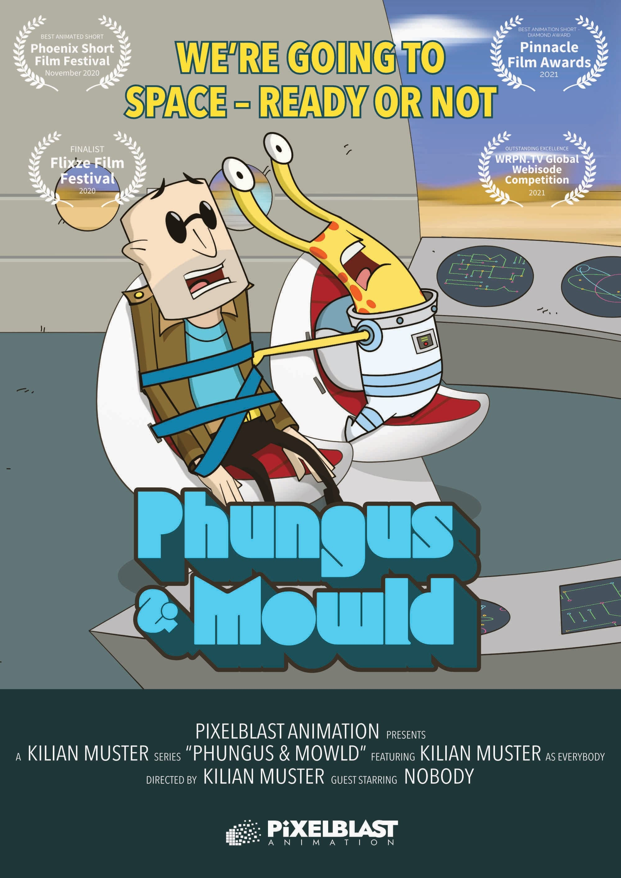 Phungus & Mowld TV Shows About Space Travel