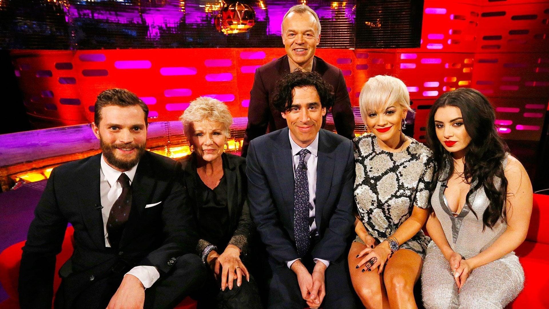 The Graham Norton Show Season 16 :Episode 18  Jamie Dornan, Julie Walters, Stephen Mangan, Charli XCX and Rita Ora