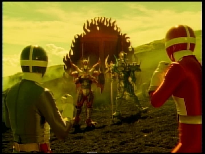 Super Sentai Season 23 :Episode 42  The Hellish Psyma Beast Army