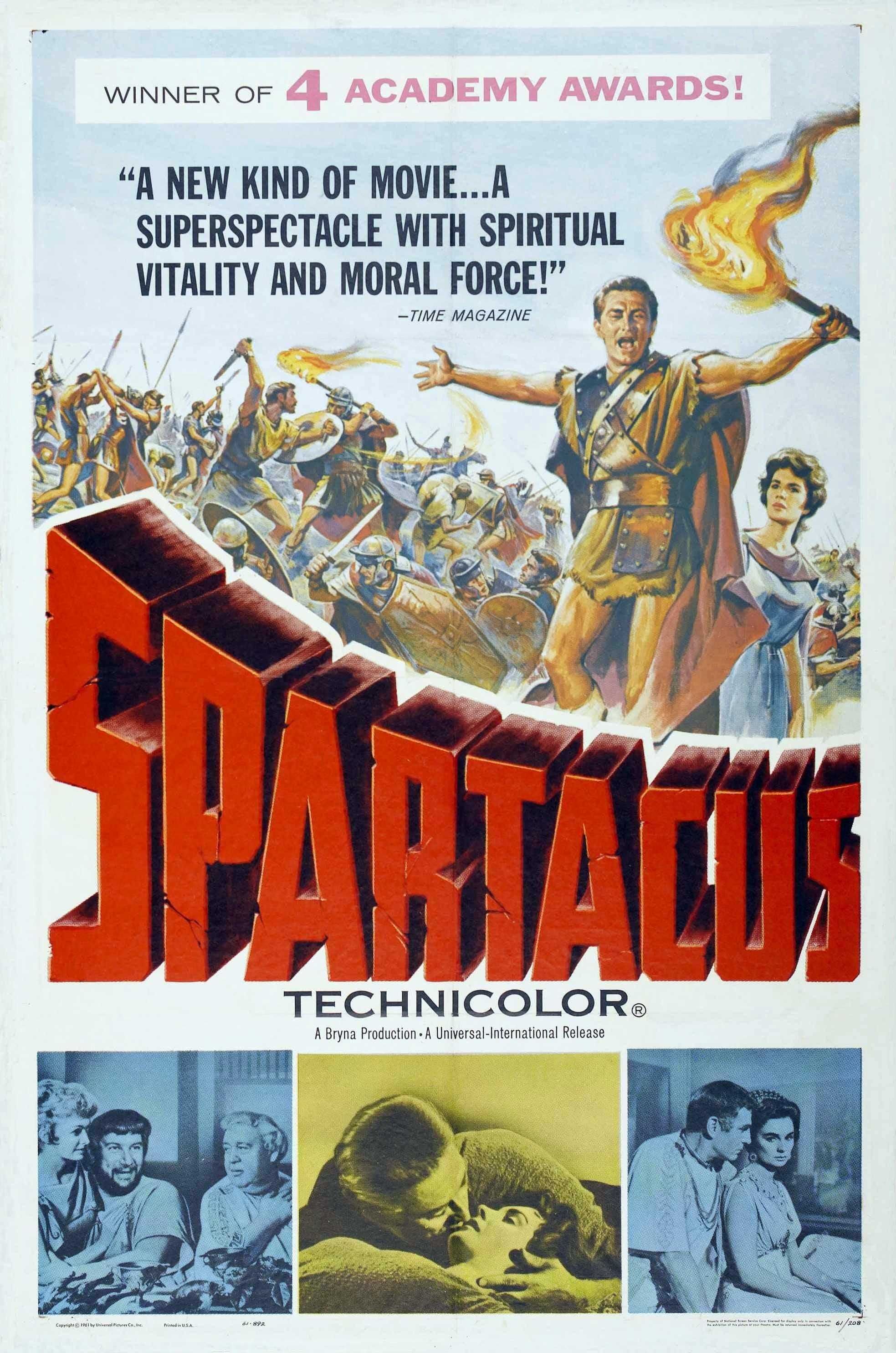 Spartacus - 1960 Movie - Stanley Kubrick - WAATCH.co