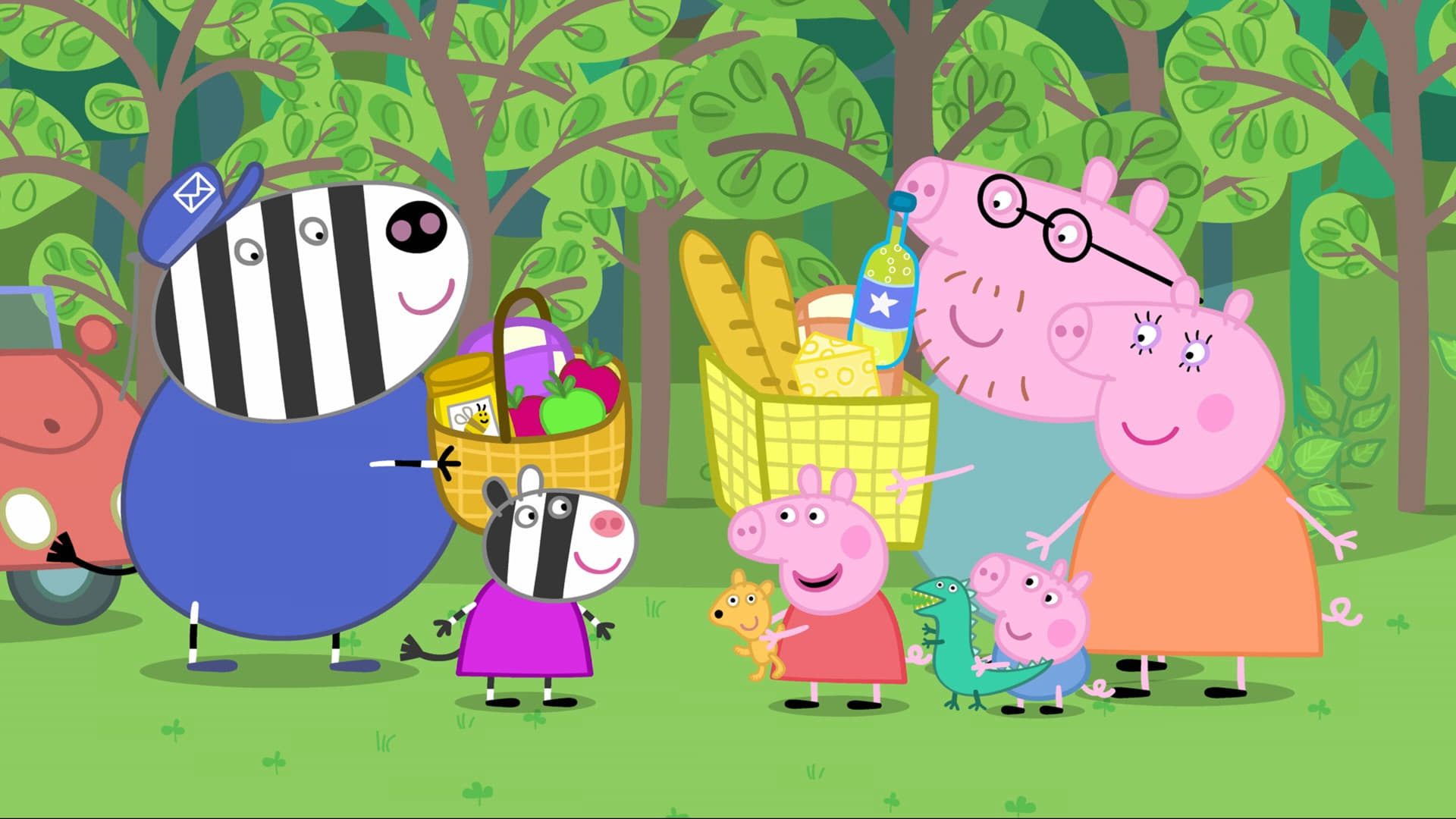 Peppa Pig Season 2 :Episode 2  Teddy's Day Out