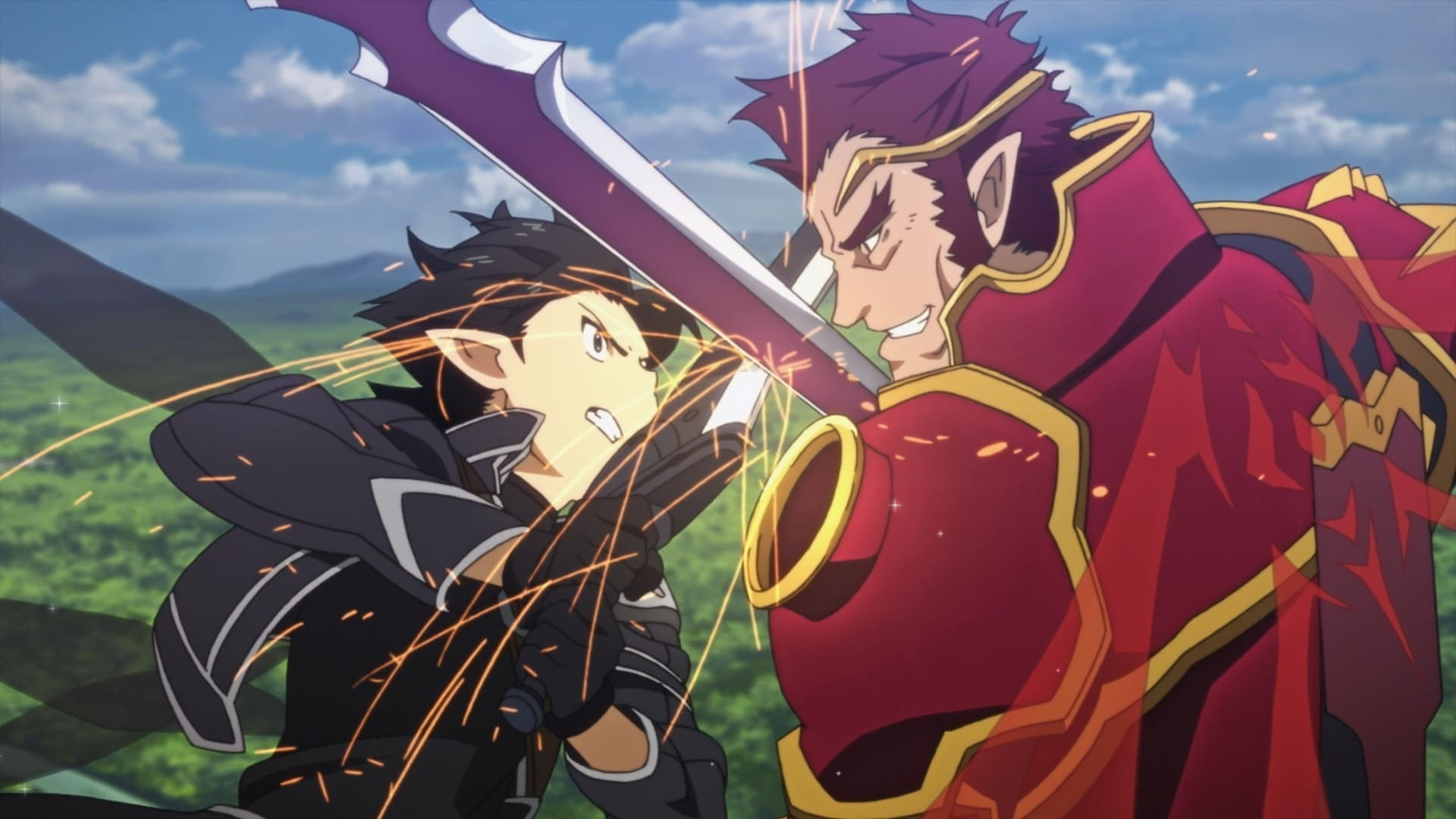 Sword Art Online Season 1 :Episode 20  General of the Blazing Flame
