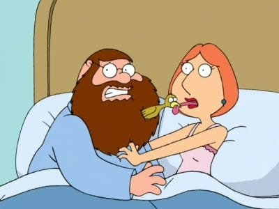 Family Guy Season 3 :Episode 17  Brian Wallows and Peter's Swallows