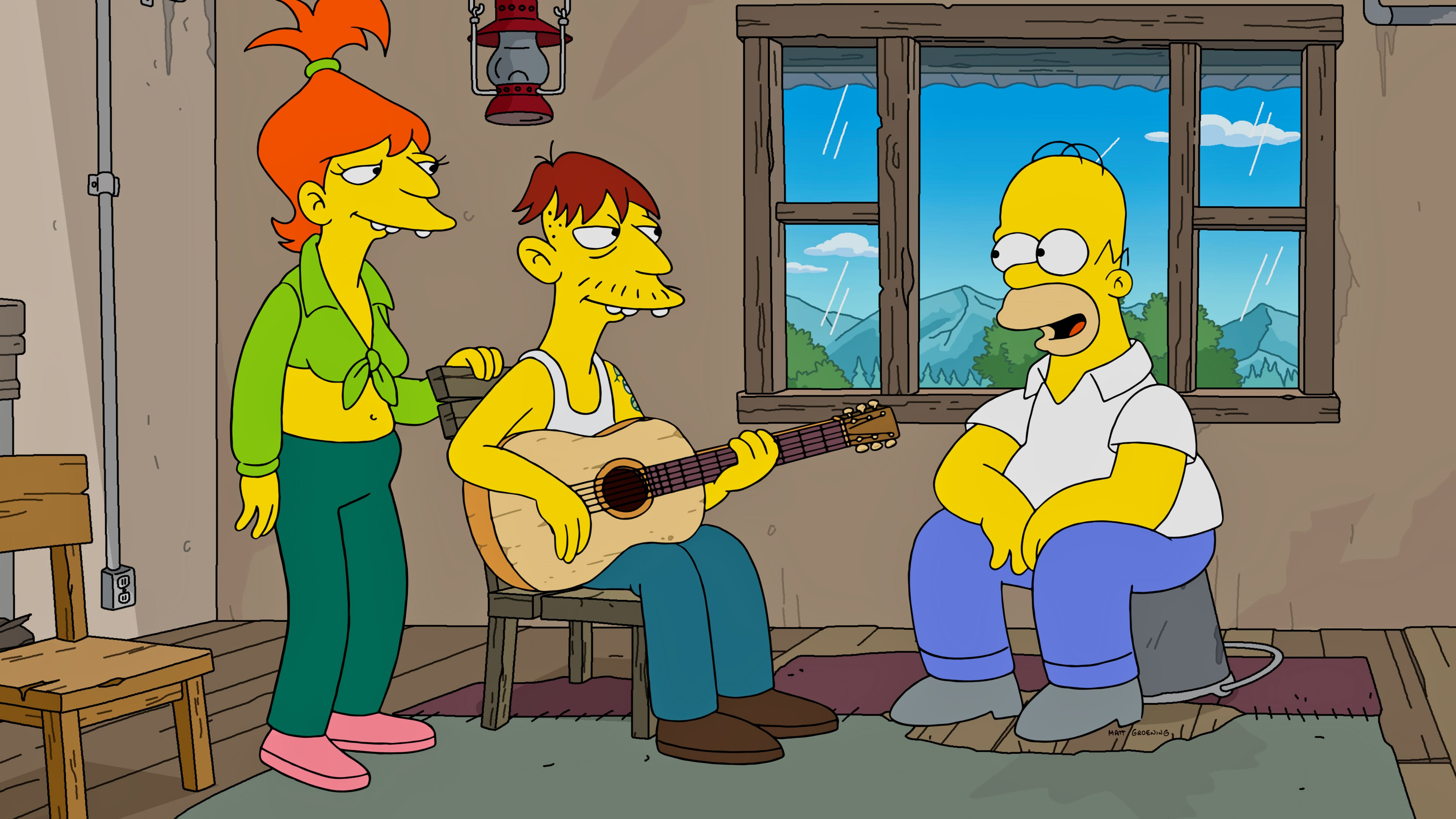 The Simpsons Season 32 :Episode 14  Yokel Hero