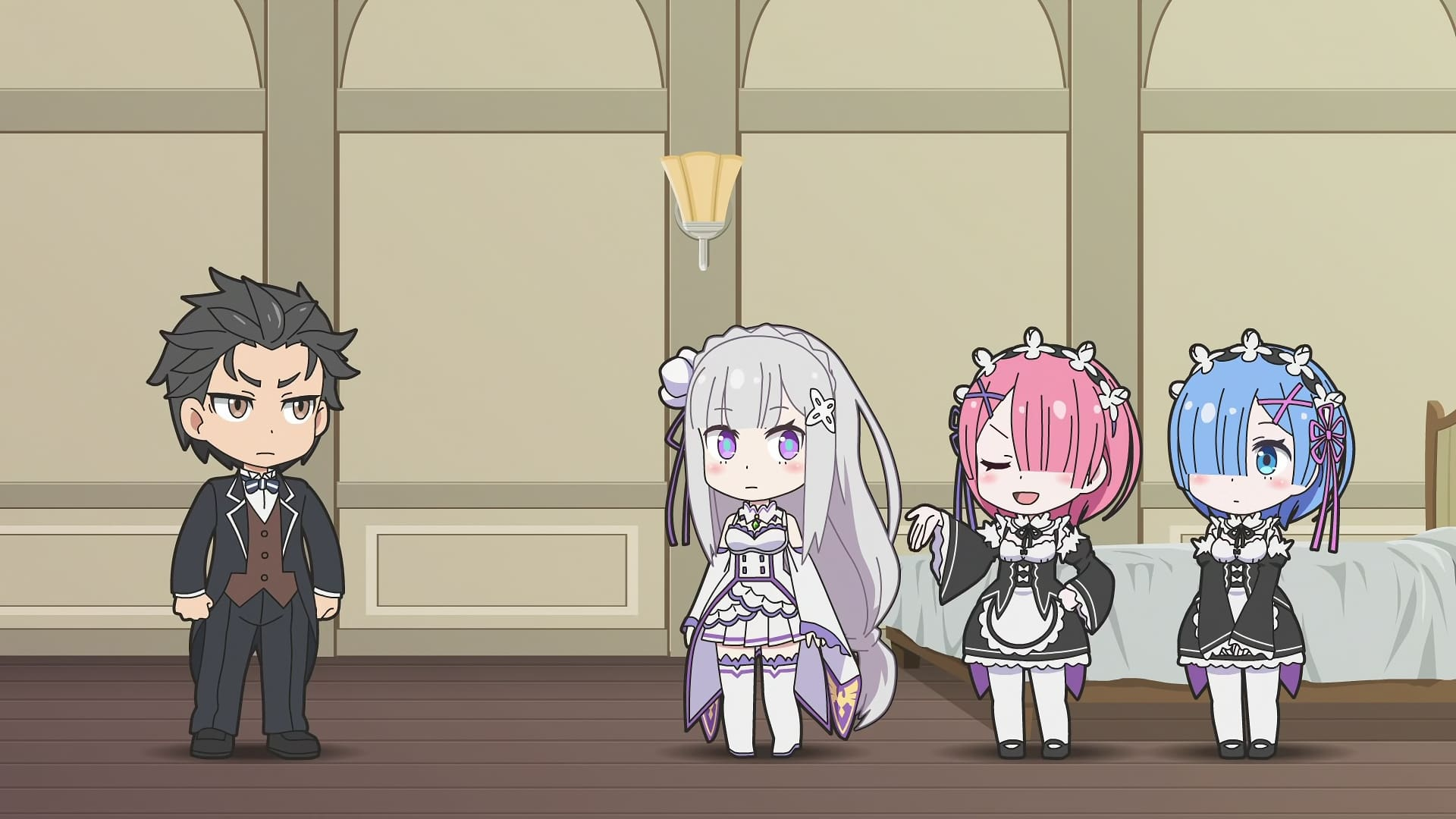 Re:ZERO -Starting Life in Another World- Season 0 :Episode 8  Re:ZERO ~Starting Break Time From Zero~ World 2-5, Side A