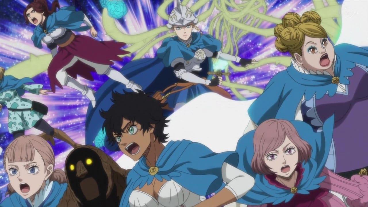 Black Clover Season 1 :Episode 126  The Blue Rose's Confession