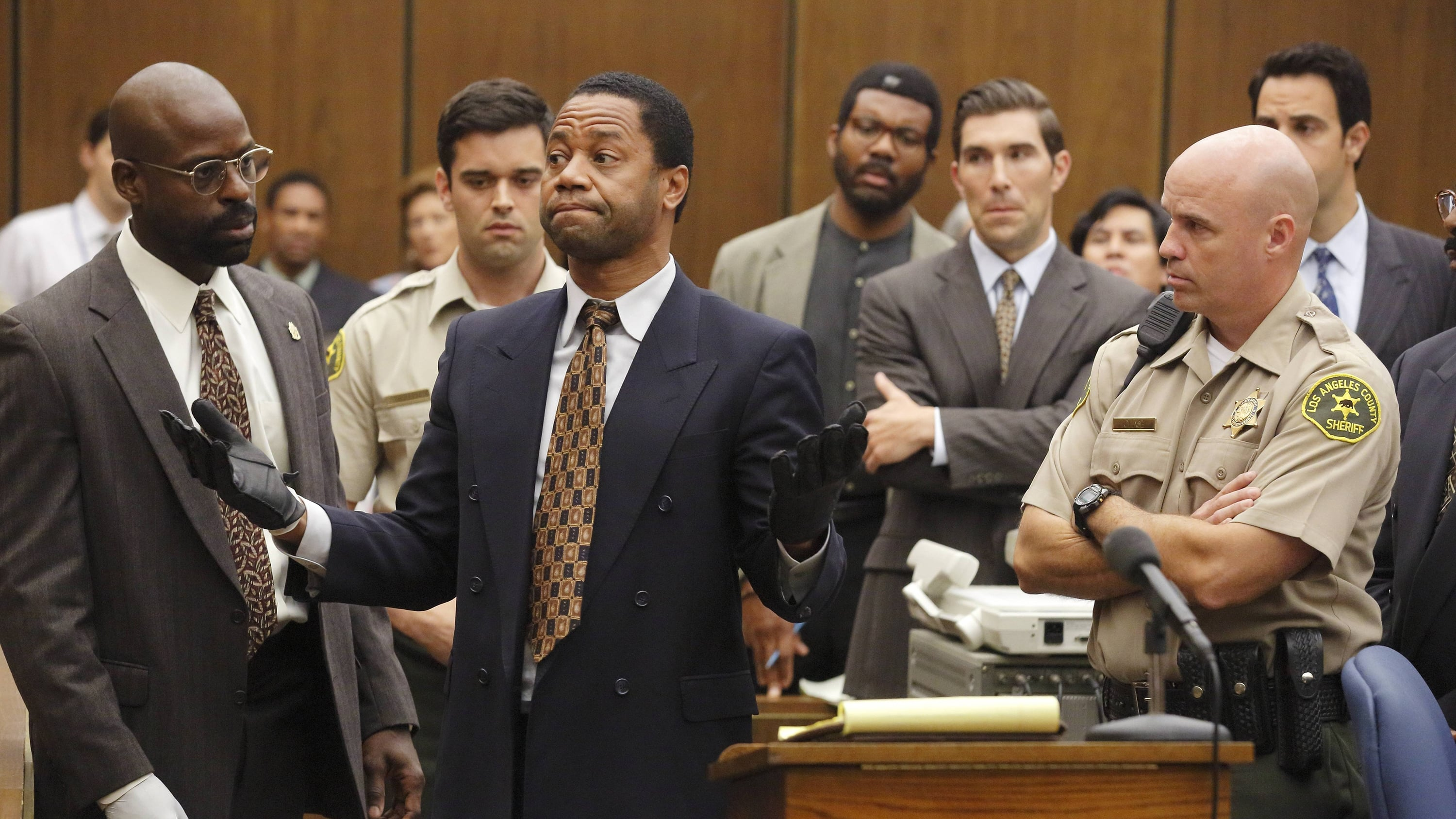 American Crime Story Season 1 :Episode 7  Conspiracy Theories