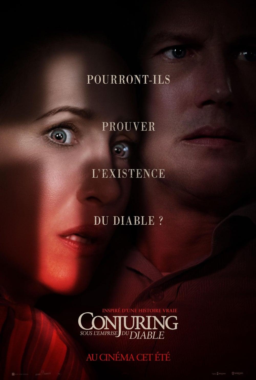 voir film Conjuring : Sous l'emprise du Diable streaming
