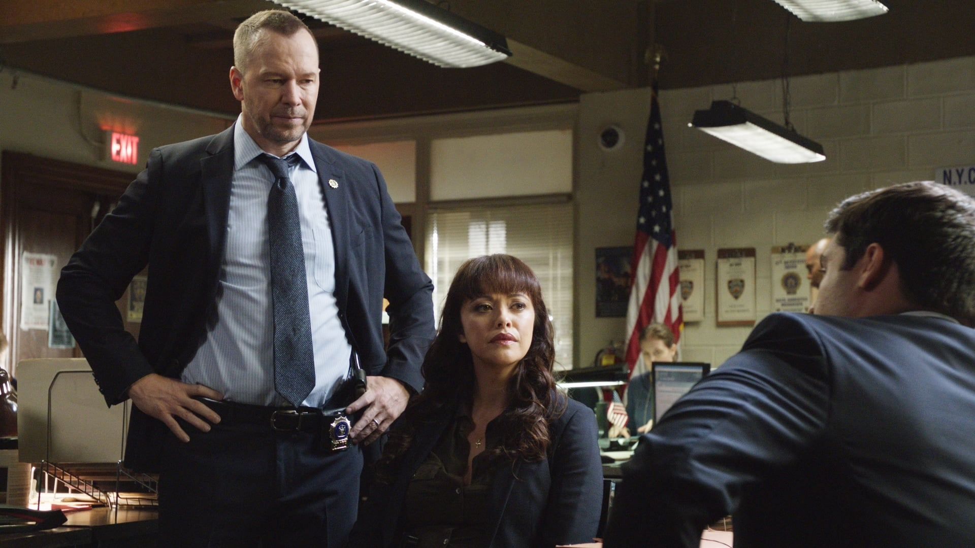 Blue Bloods Season 8 :Episode 4  Out of the Blue
