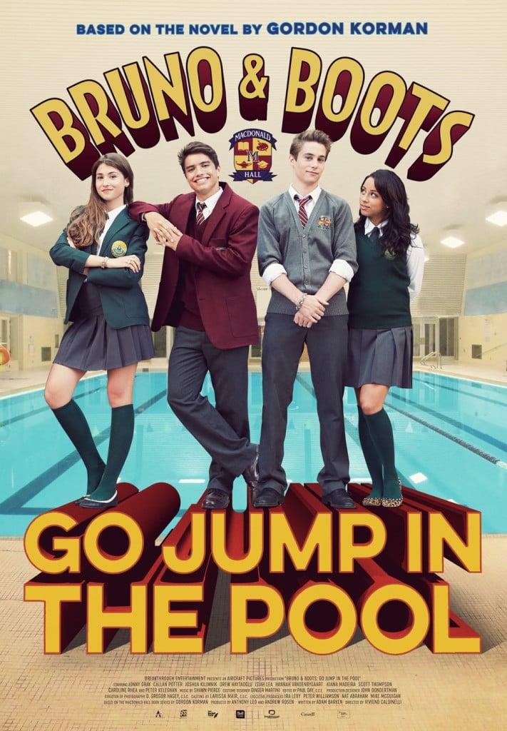 Póster Bruno y Botas: Tírense a la piscina