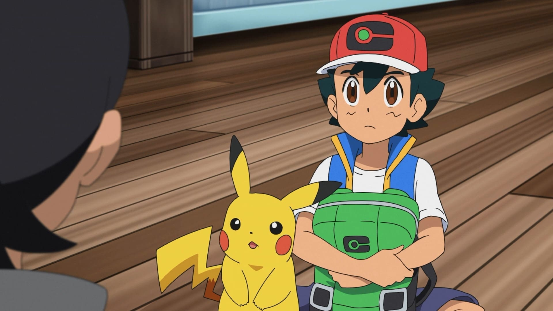 Pokémon Season 23 :Episode 15  A Snow Day for Searching!