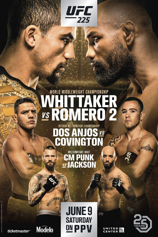 Ver UFC 225: Whittaker vs. Romero 2 Online HD Español ()