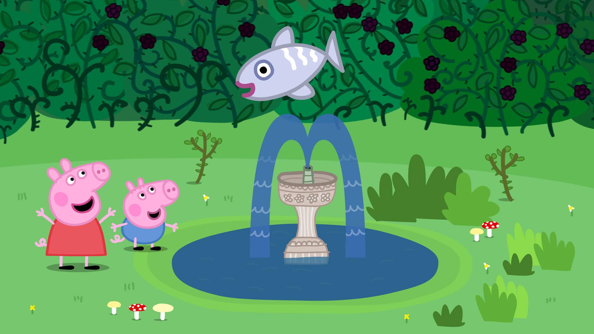 Peppa Pig Season 4 :Episode 48  Fish Pond