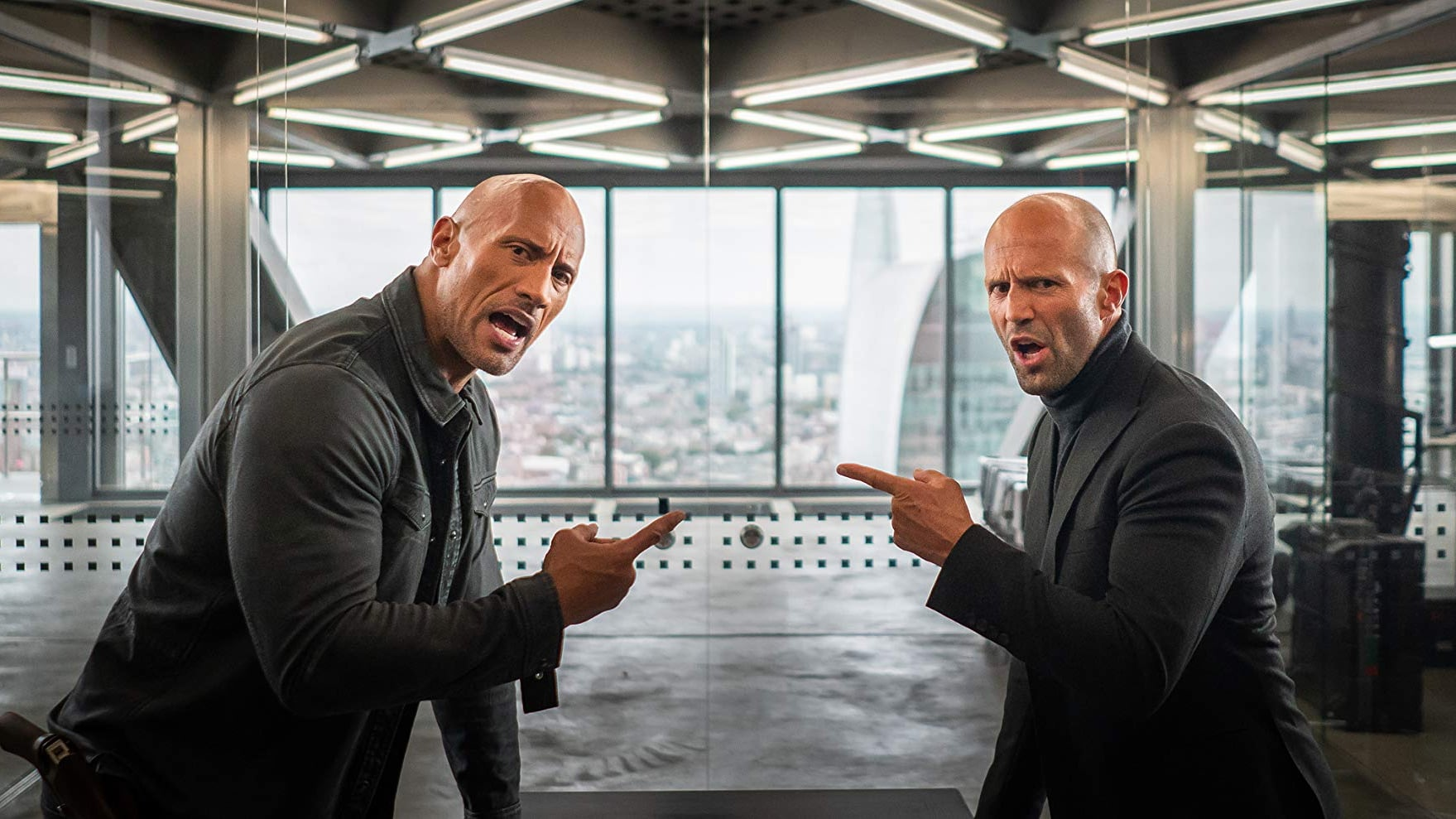 Dwayne The Rock Johnson i Jason Statham u Hobbs & Shaw