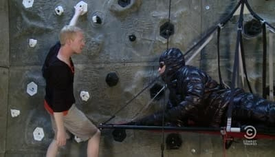 Tosh.0 Season 4 :Episode 19  Rock Climber Poops Pants
