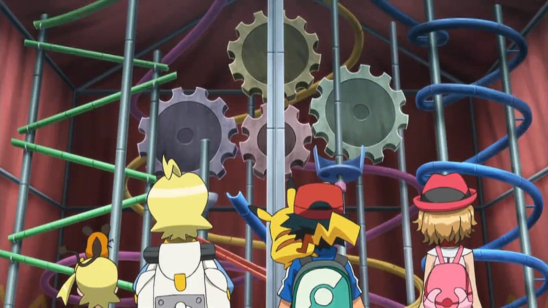 Pokémon Season 19 :Episode 31  A Gaggle of Gadget Greatness!