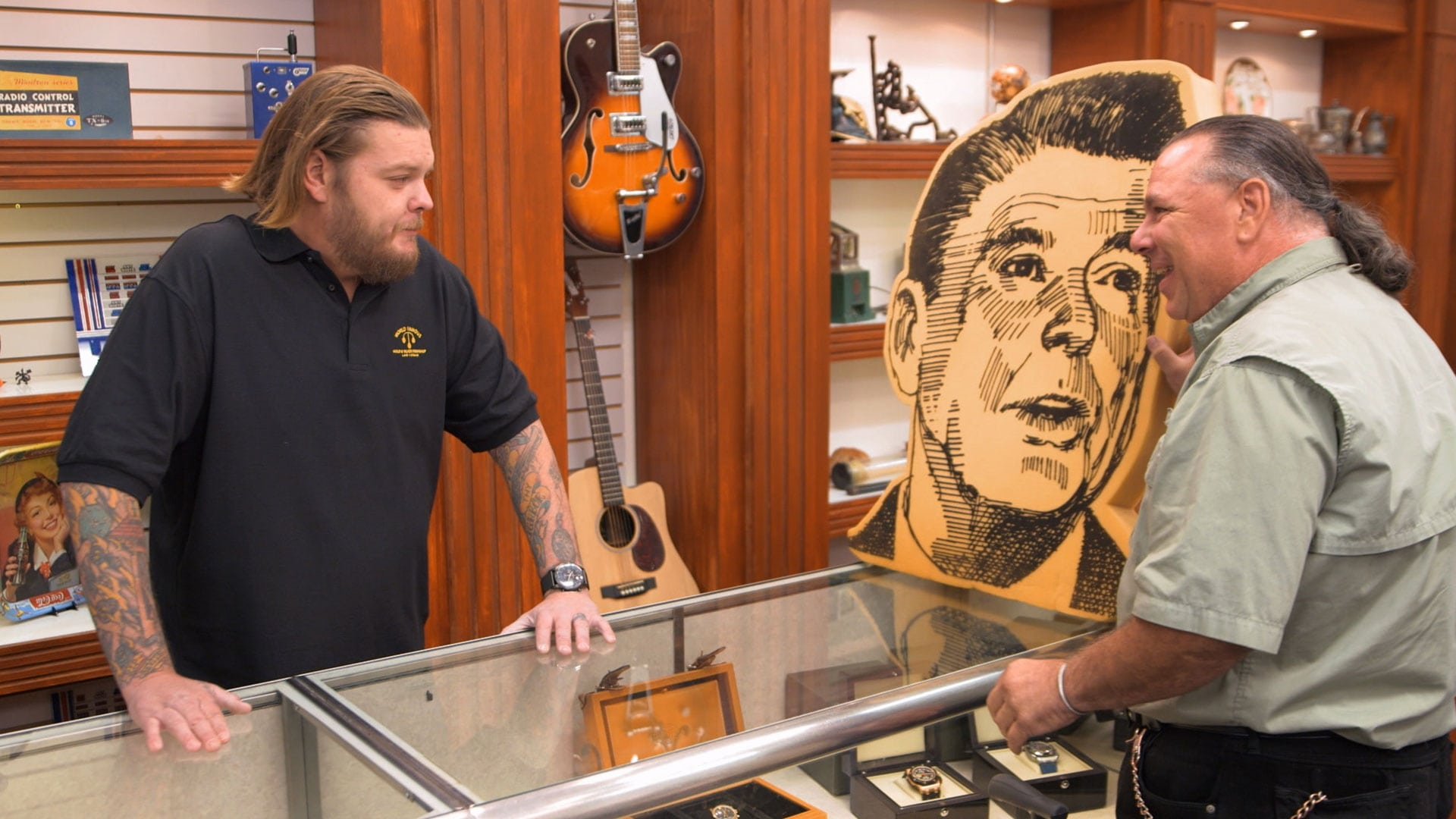Pawn Stars Season 14 :Episode 9  Pawning Reagan