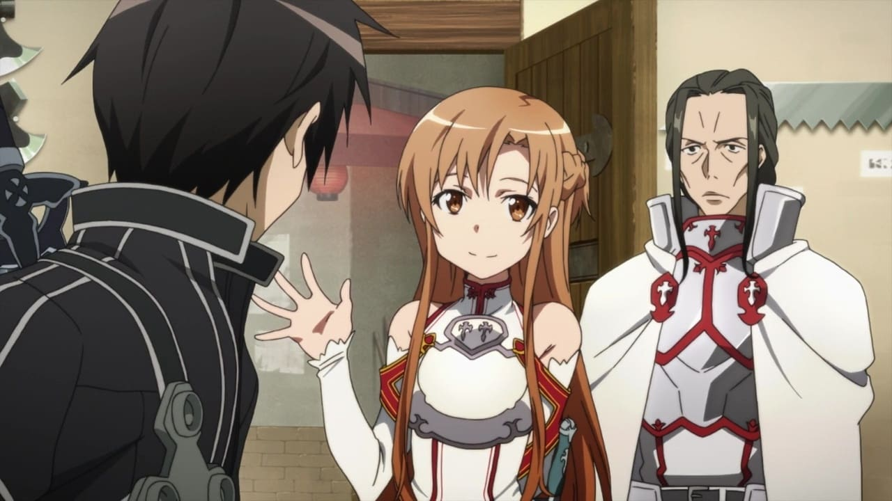Sword Art Online Season 1 :Episode 8  The Sword Dance of Black and White