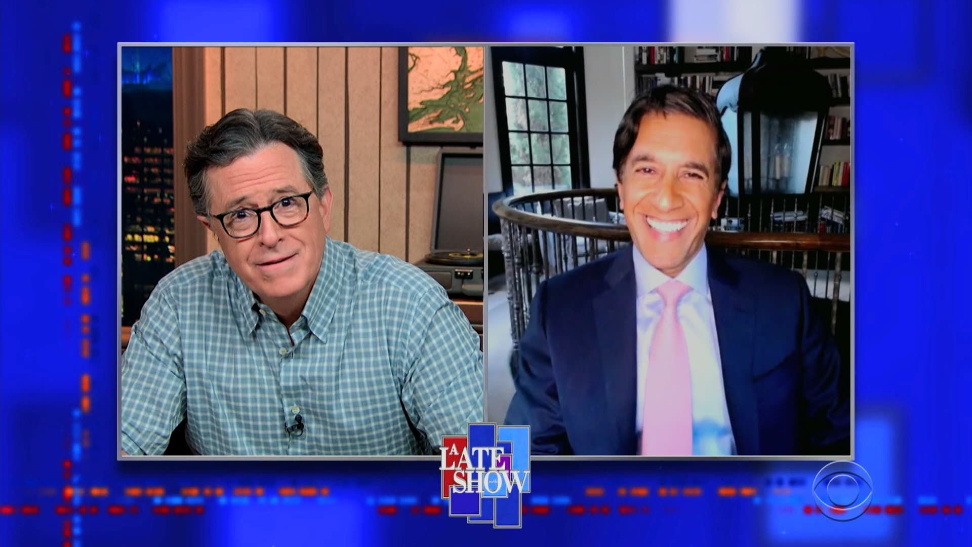 The Late Show with Stephen Colbert Season 6 :Episode 25  Dr. Sanjay Gupta, Sarah Cooper