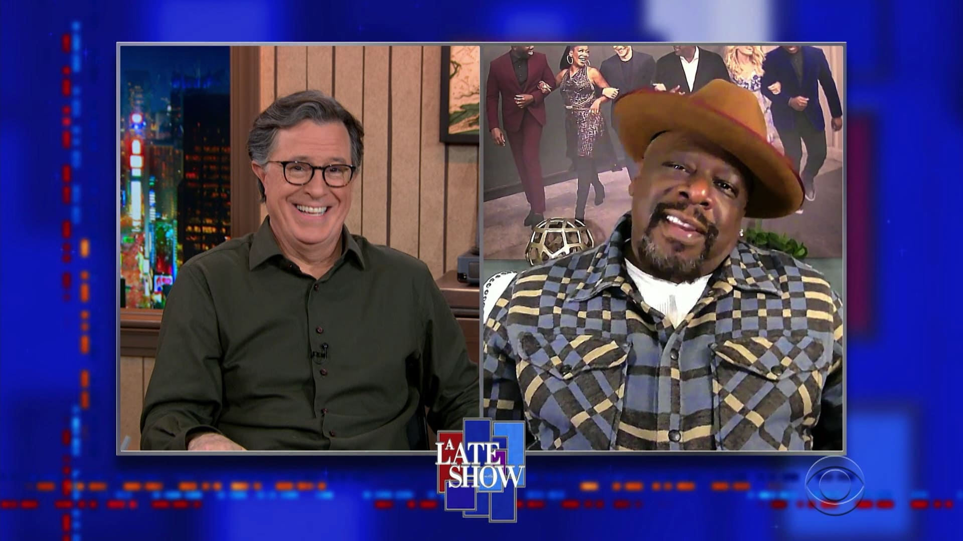 The Late Show with Stephen Colbert Season 6 :Episode 39  11/18/20 (Matthew McConaughey, Cedric the Entertainer)