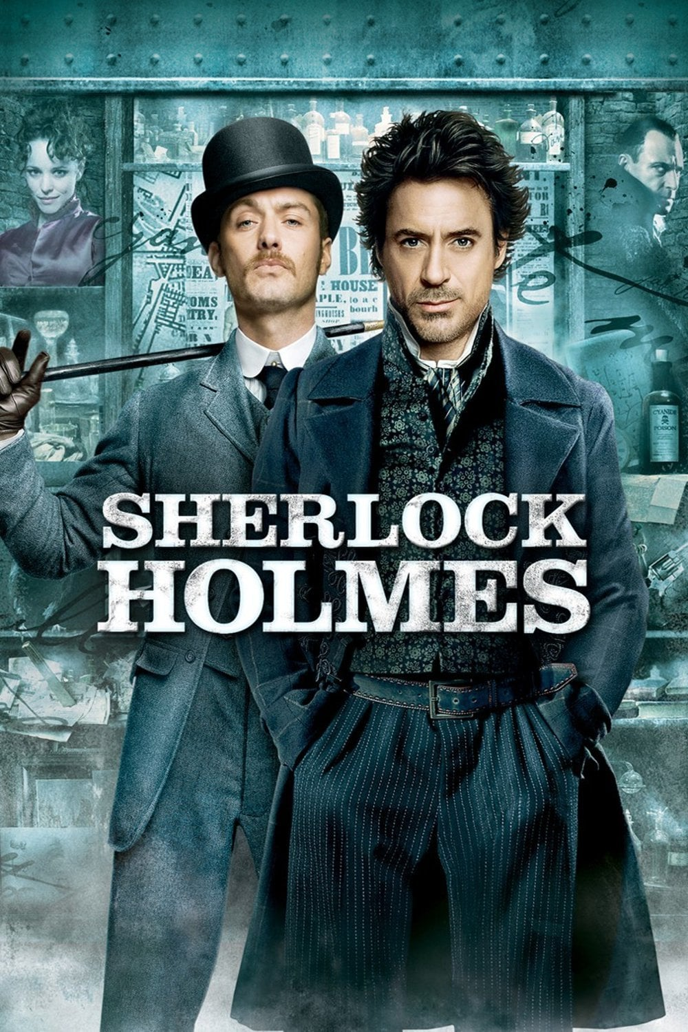 Poster and image movie Film Sherlock Holmes - Sherlock Holmes - Sherlock Holmes -  2009