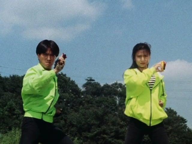 Super Sentai Season 14 :Episode 36  The Great Twin Strategy