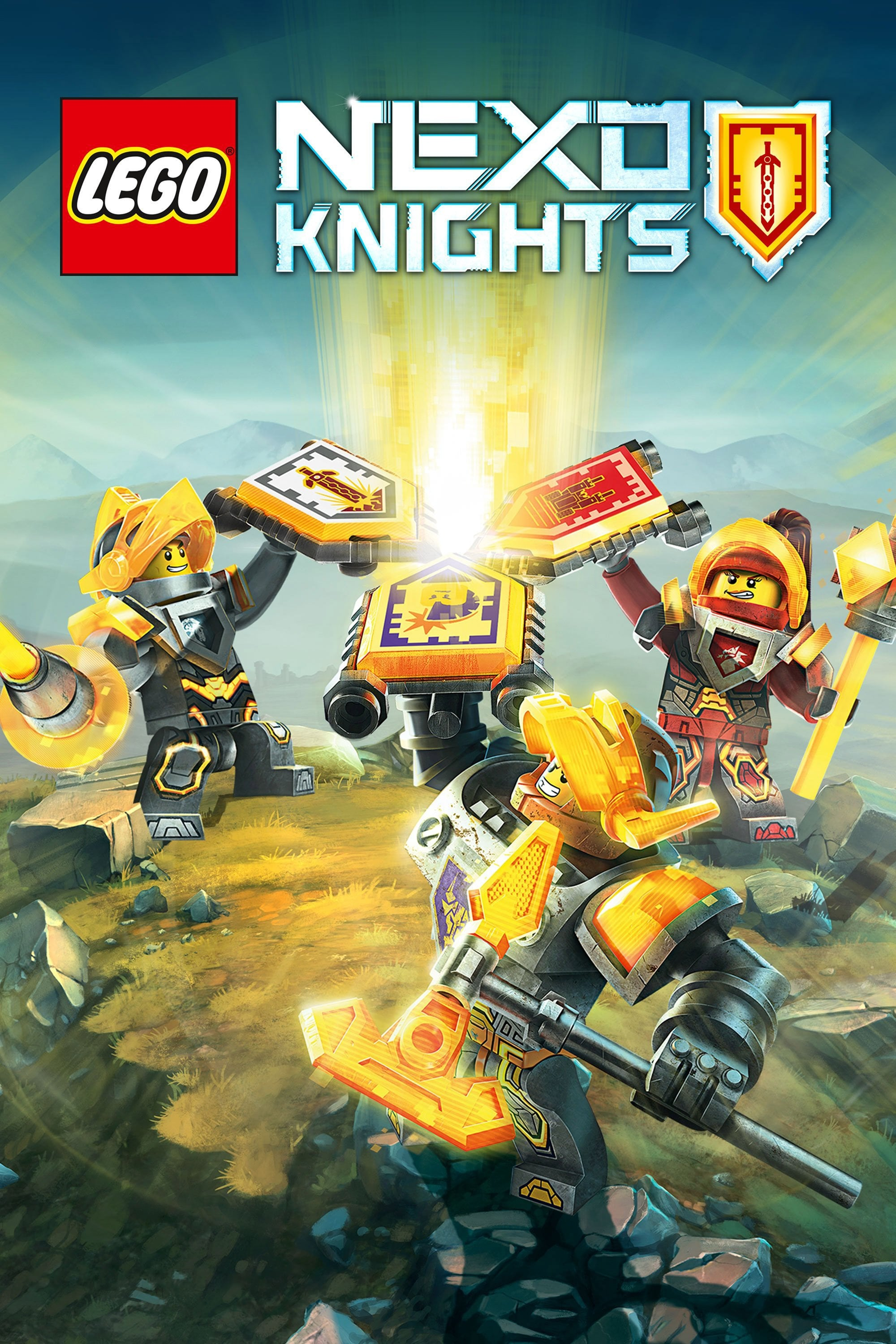 lego nexo knights tv series 2015 posters � the movie