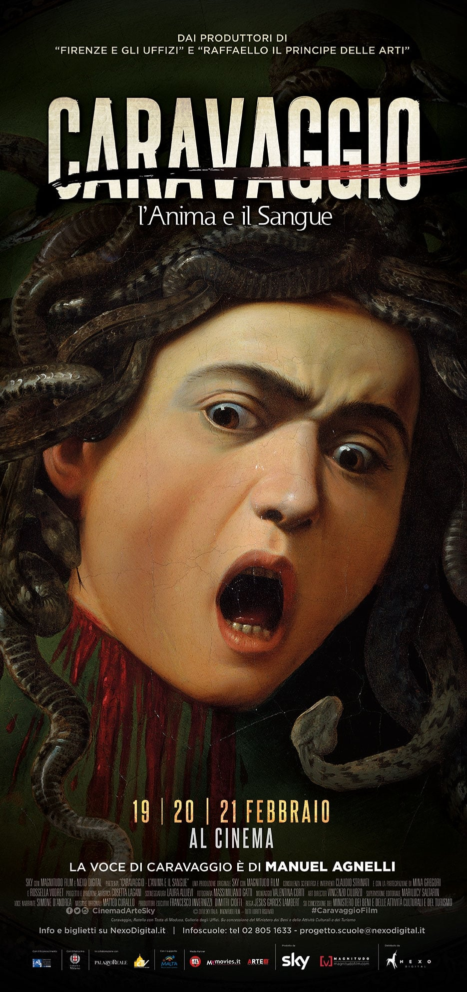 Ver Caravaggio – L'anima e il sangue Online HD Español ()