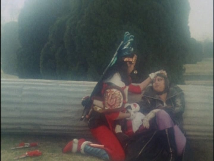 Super Sentai Season 17 :Episode 10  Ah, the Vengeful Goddess