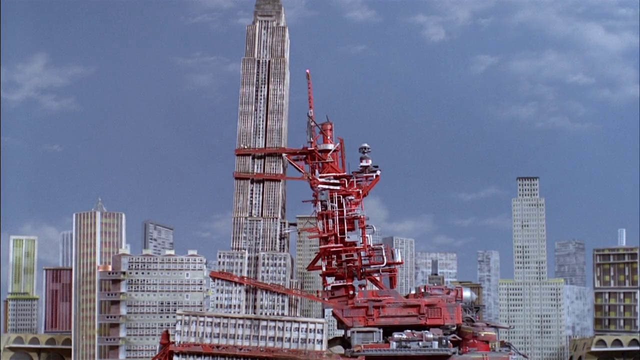 Thunderbirds Season 1 :Episode 4  Terror in New York City