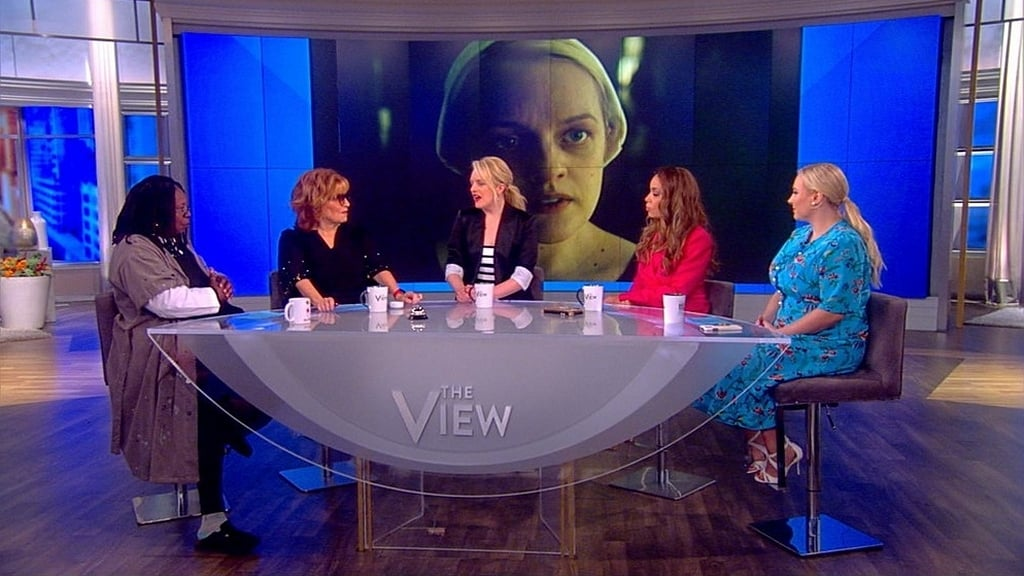 The View Season 22 :Episode 172  Elisabeth Moss