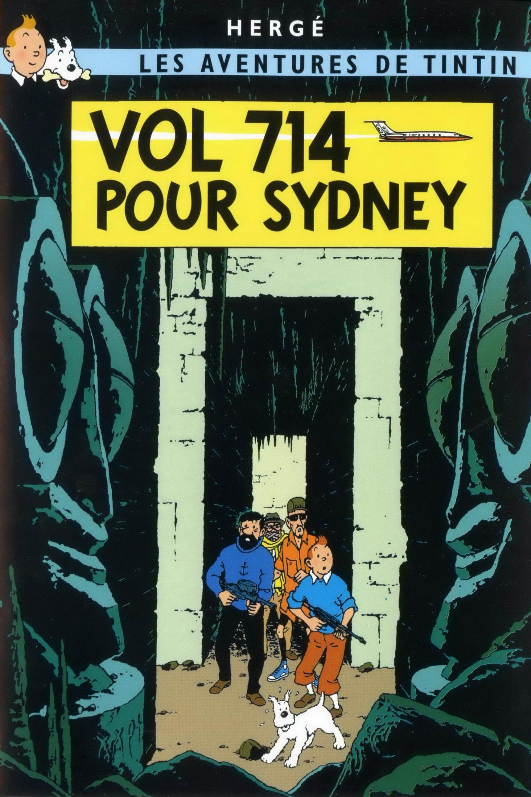 Les-Aventures-De-Tintin-20-Vol-714-Pour-Sydney-Flight-714-To