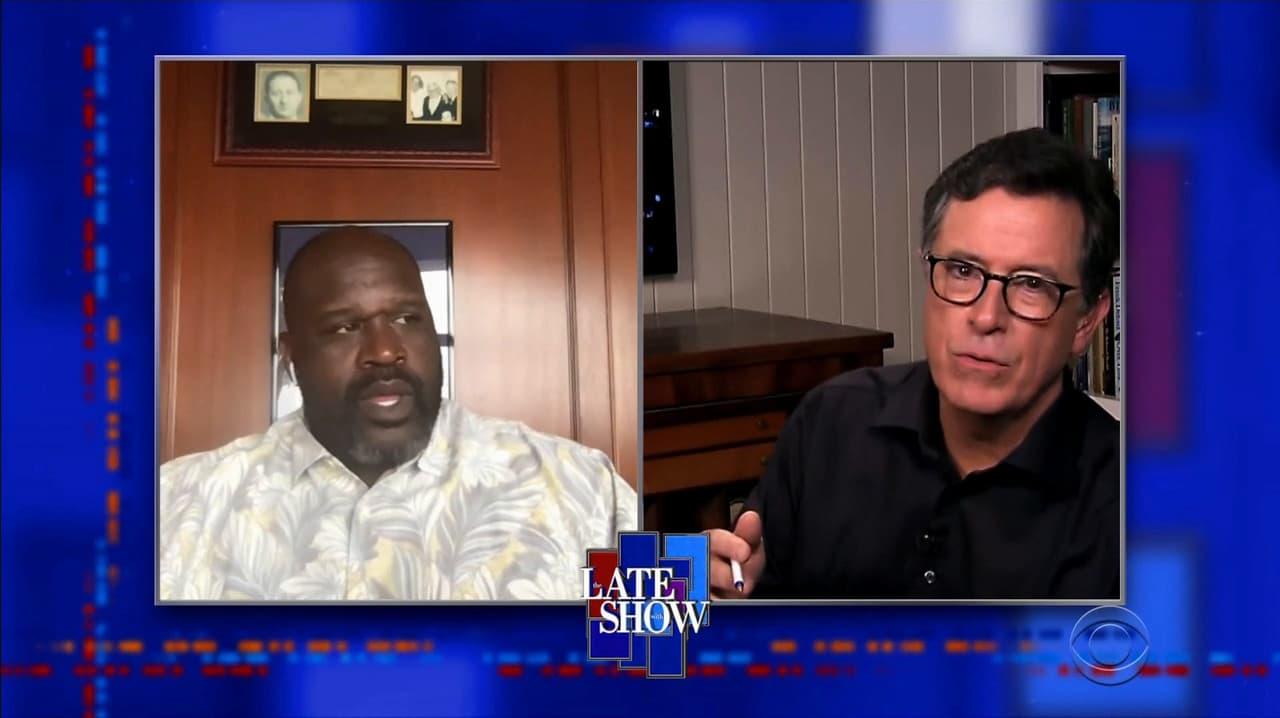 The Late Show with Stephen Colbert Season 5 :Episode 115  Shaquille O'Neal / Jessica Meir / Matt Berninger