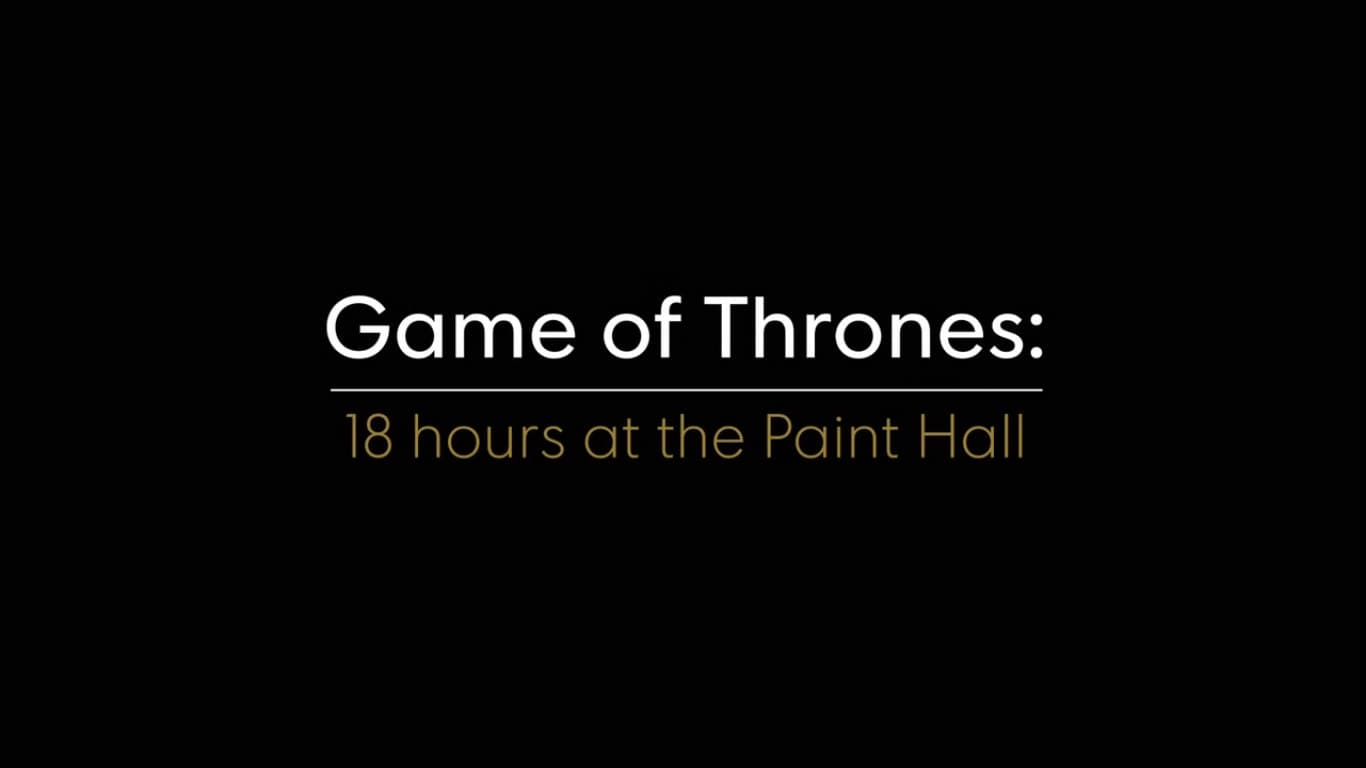 Game of Thrones Season 0 :Episode 13  18 Hours at the Paint Hall