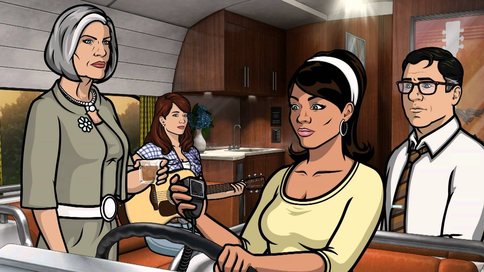 Archer Season 5 :Episode 5  Southbound and Down