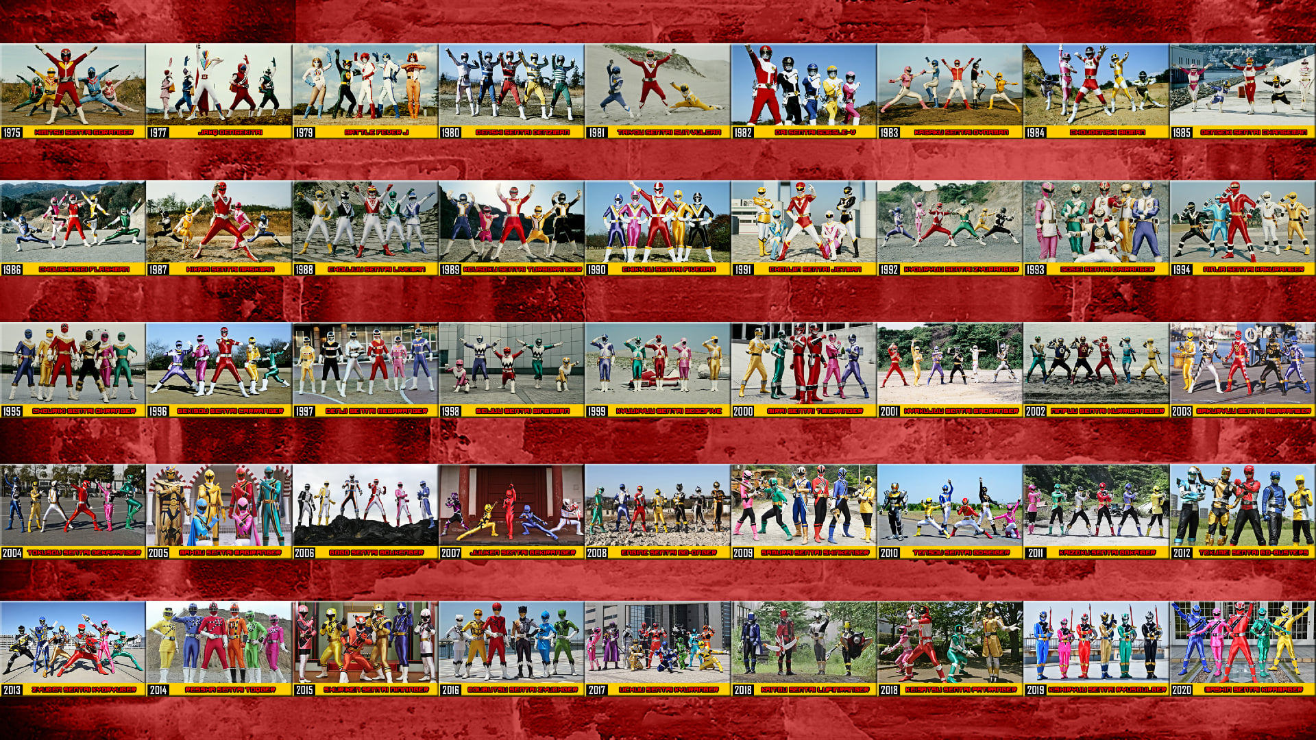 Super Sentai - Engine Sentai Go-onger