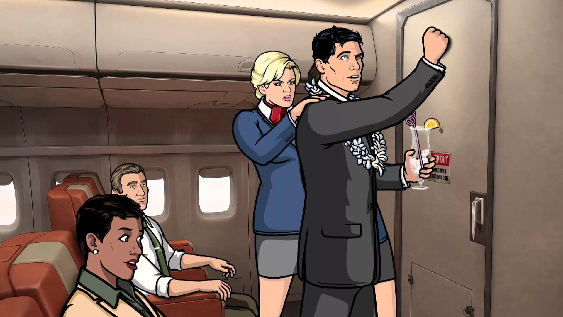 Archer Season 6 :Episode 7  Nellis