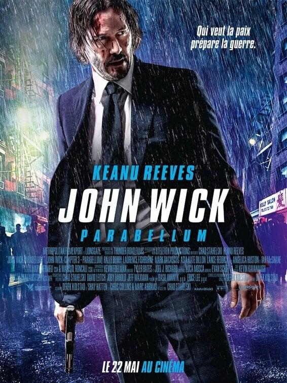 Poster and image movie Film John Wick: Chapter 3 – Parabellum - Dzonas Vikas 3 -  2019
