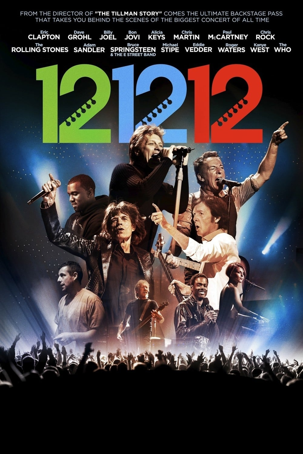 12-12-12: The Concert for Sandy Relief on FREECABLE TV