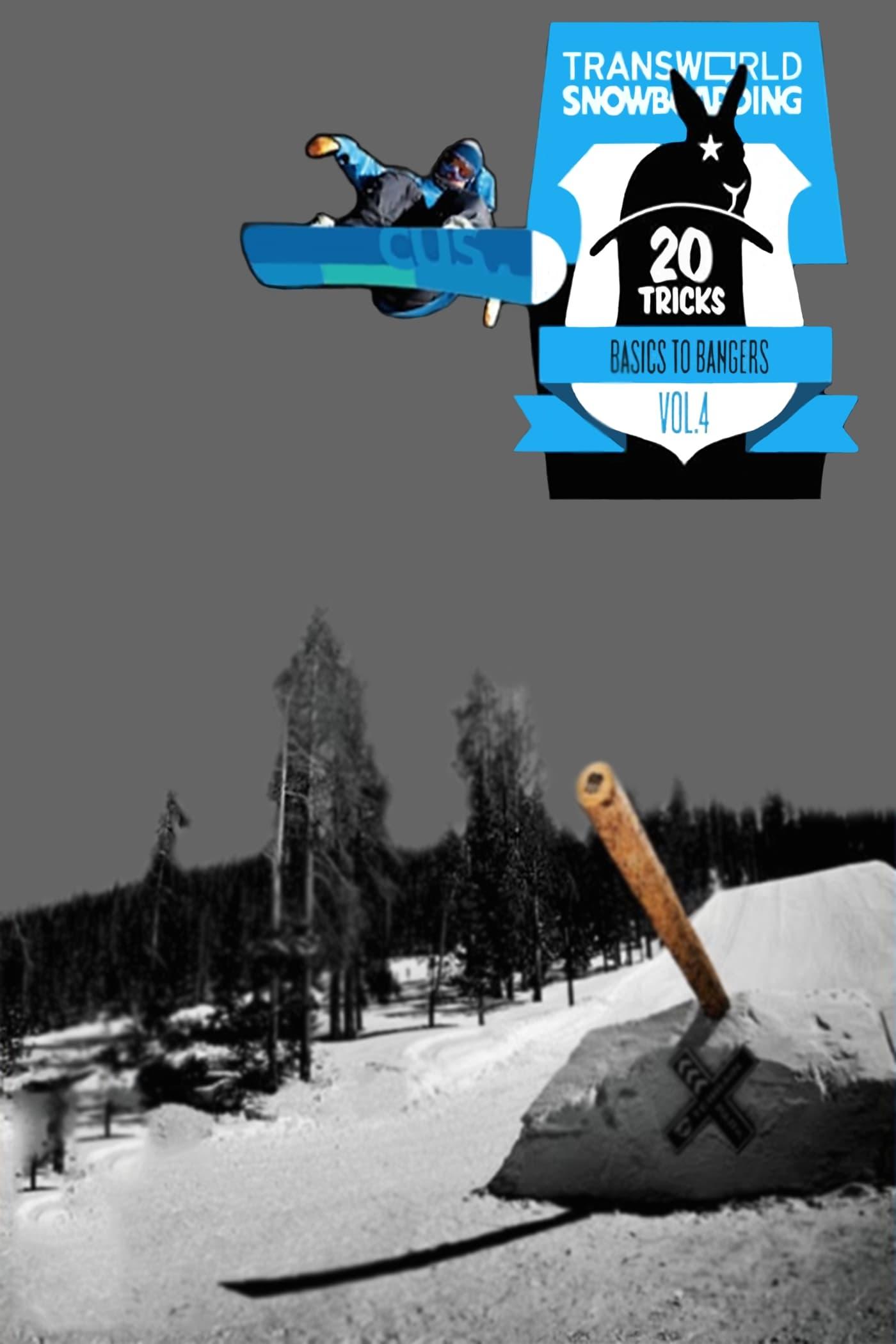 Transworld Snowboarding 20 Tricks - Vol. 4 on FREECABLE TV