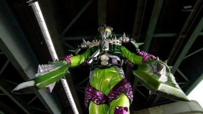 Kamen Rider Season 24 :Episode 6  The Durian Rider appears!