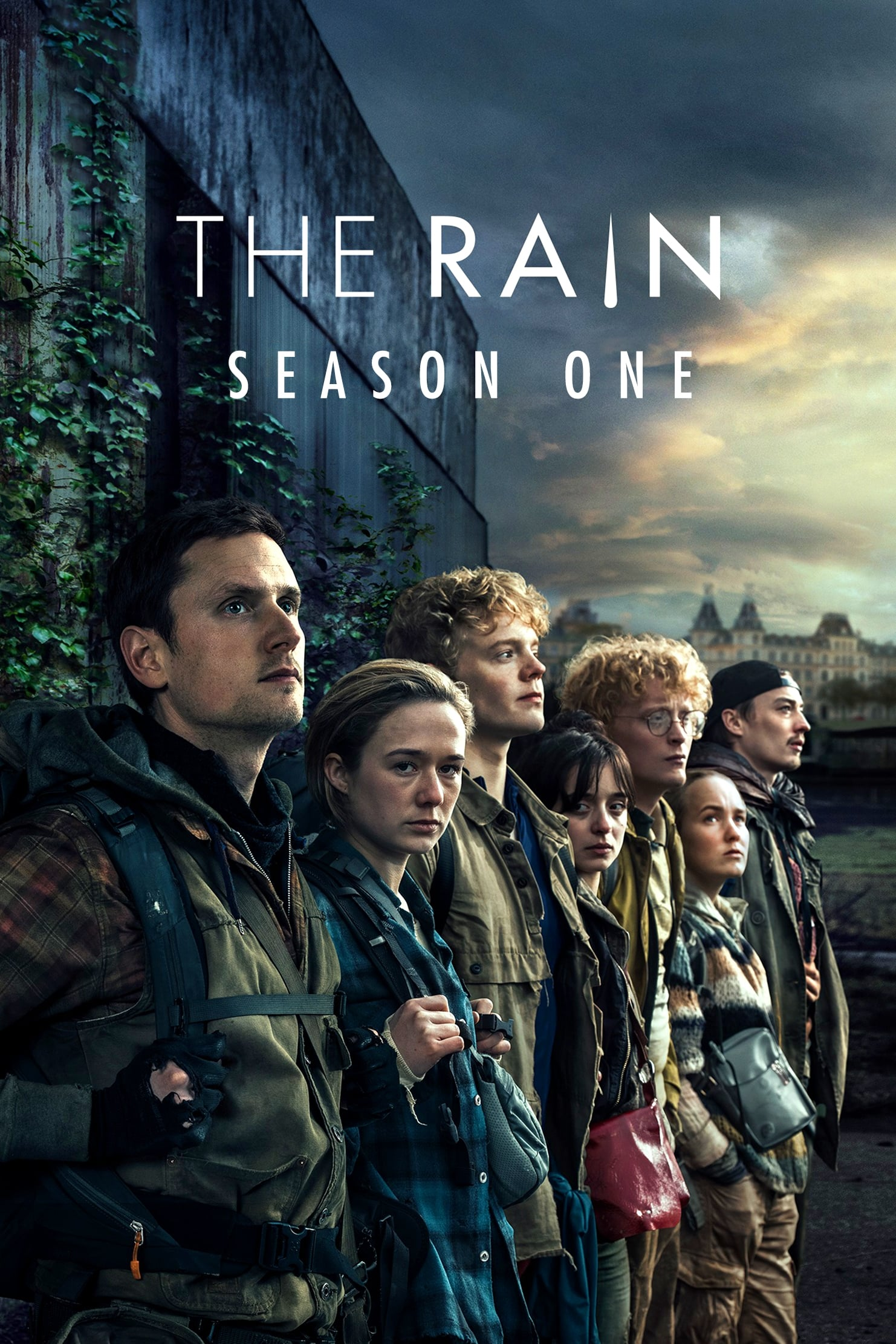 The Rain 1ª Temporada poster, capa, cartaz