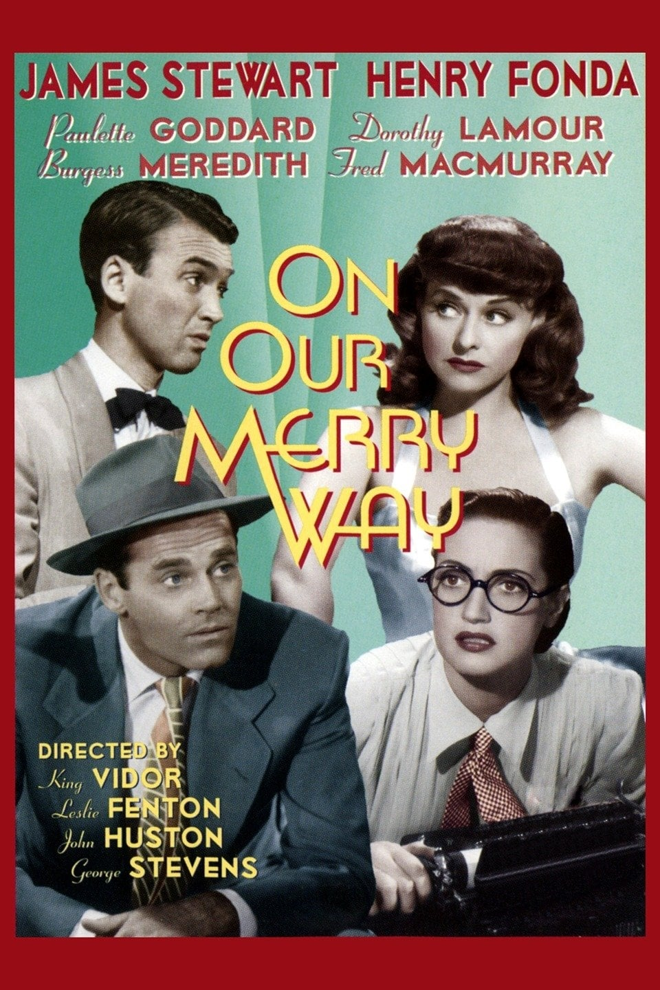 On Our Merry Way poster