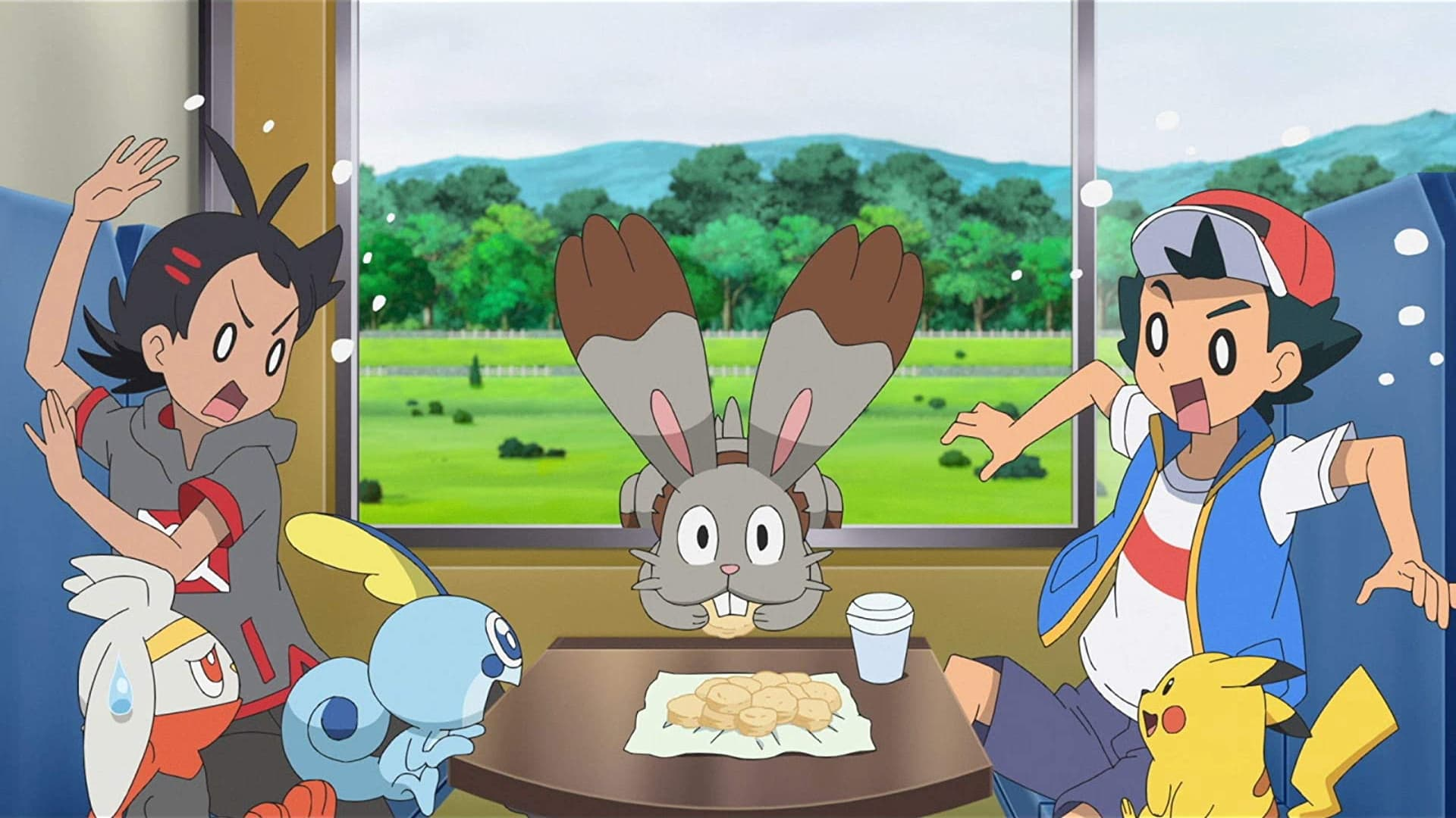 Pokémon Season 23 :Episode 42  Sword and Shield, Slumbering Weald!
