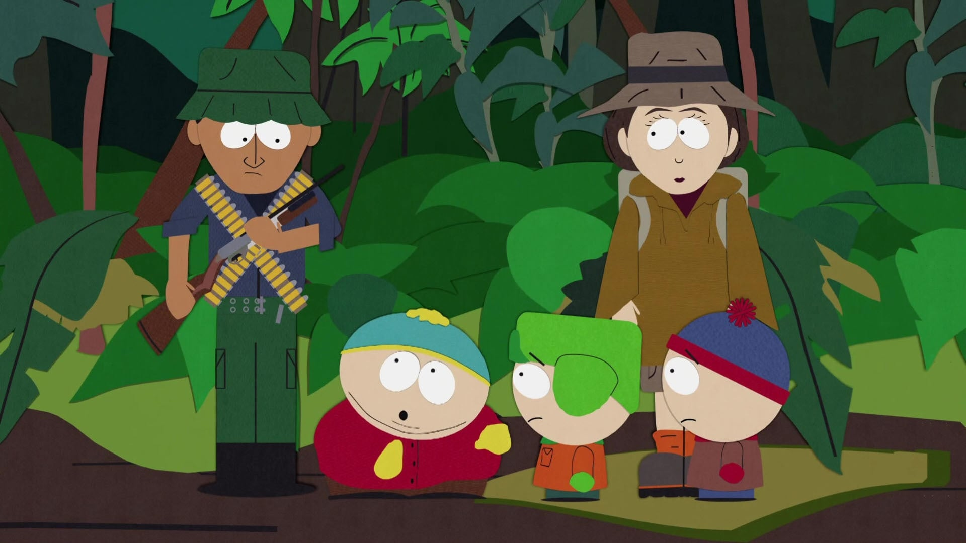 South Park Season 3 :Episode 1  Rainforest Shmainforest