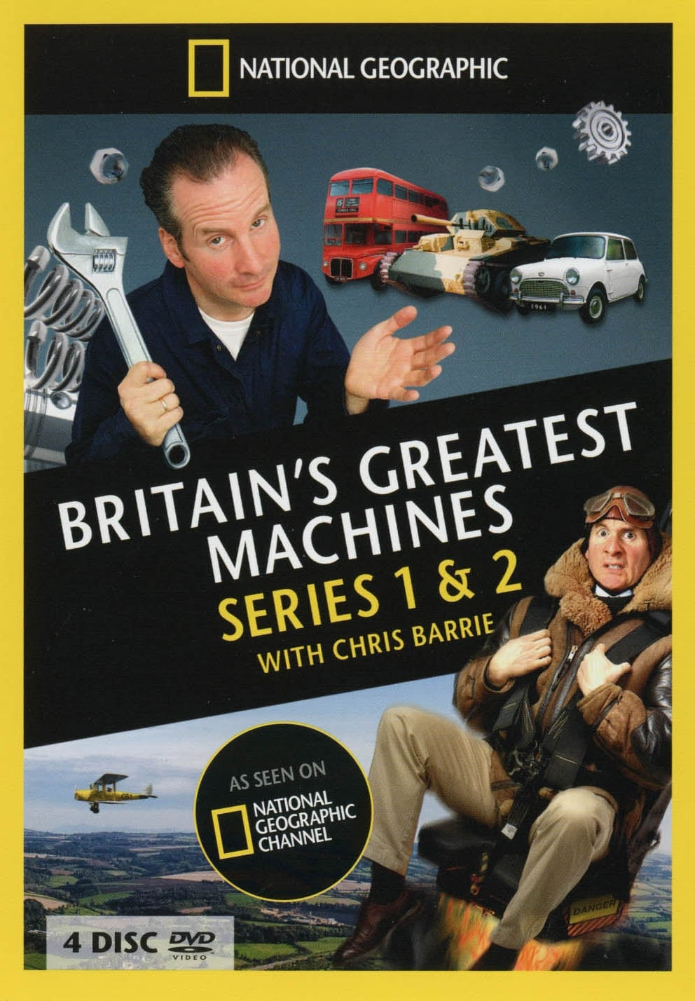 Britain's Greatest Machines With Chris Barrie (2009)