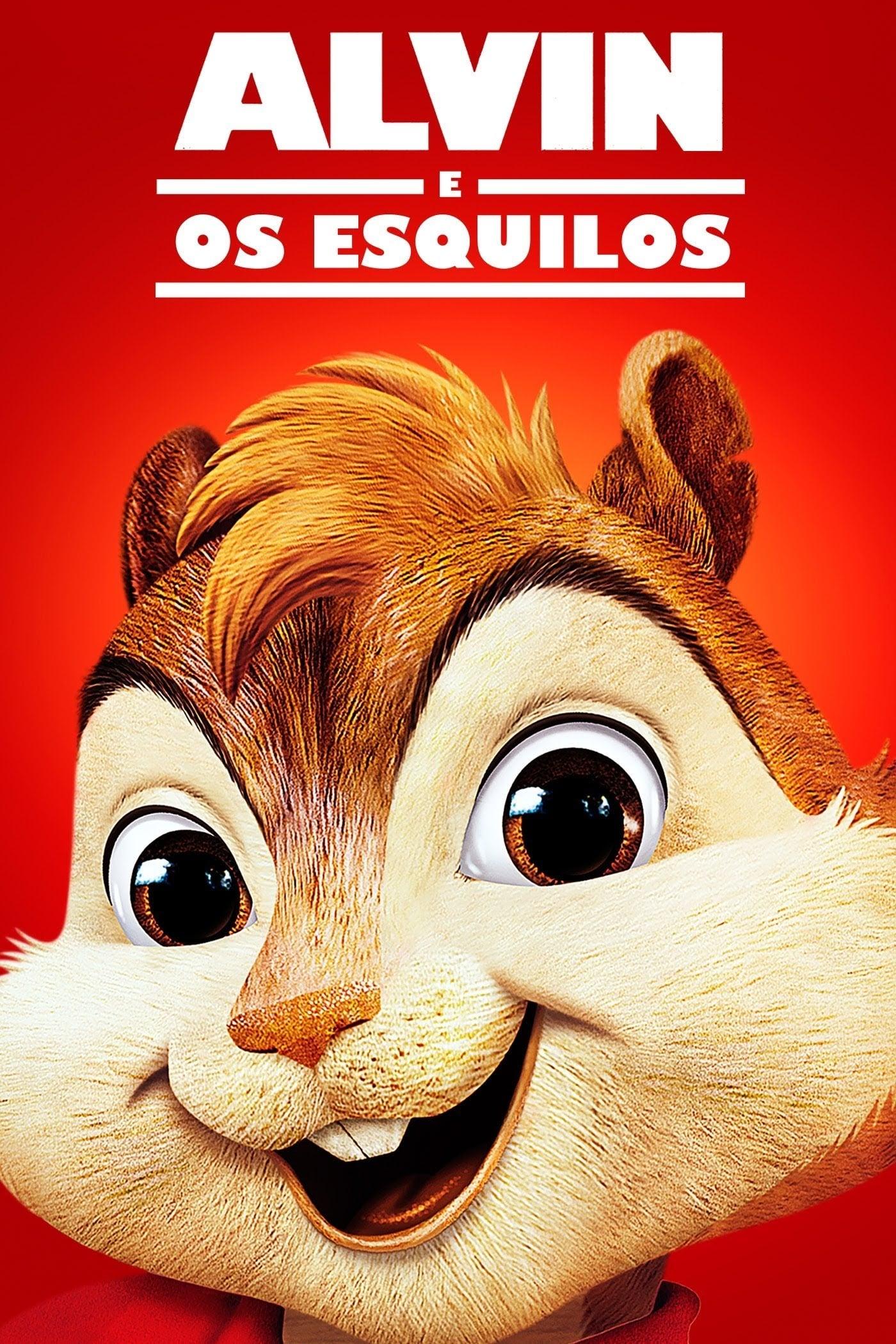 capa Alvin e os Esquilos