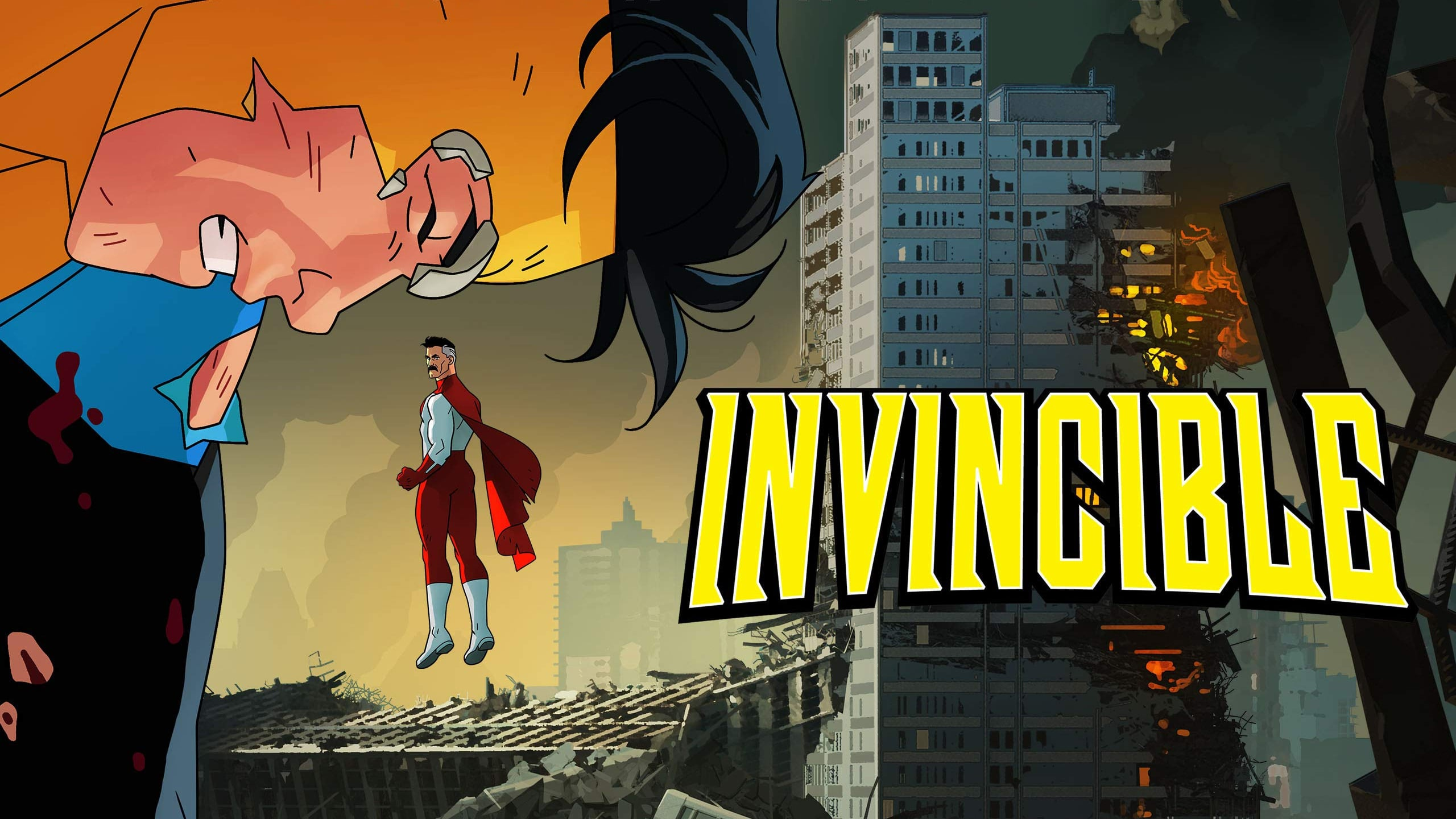 A second and third season for animated series Invincible