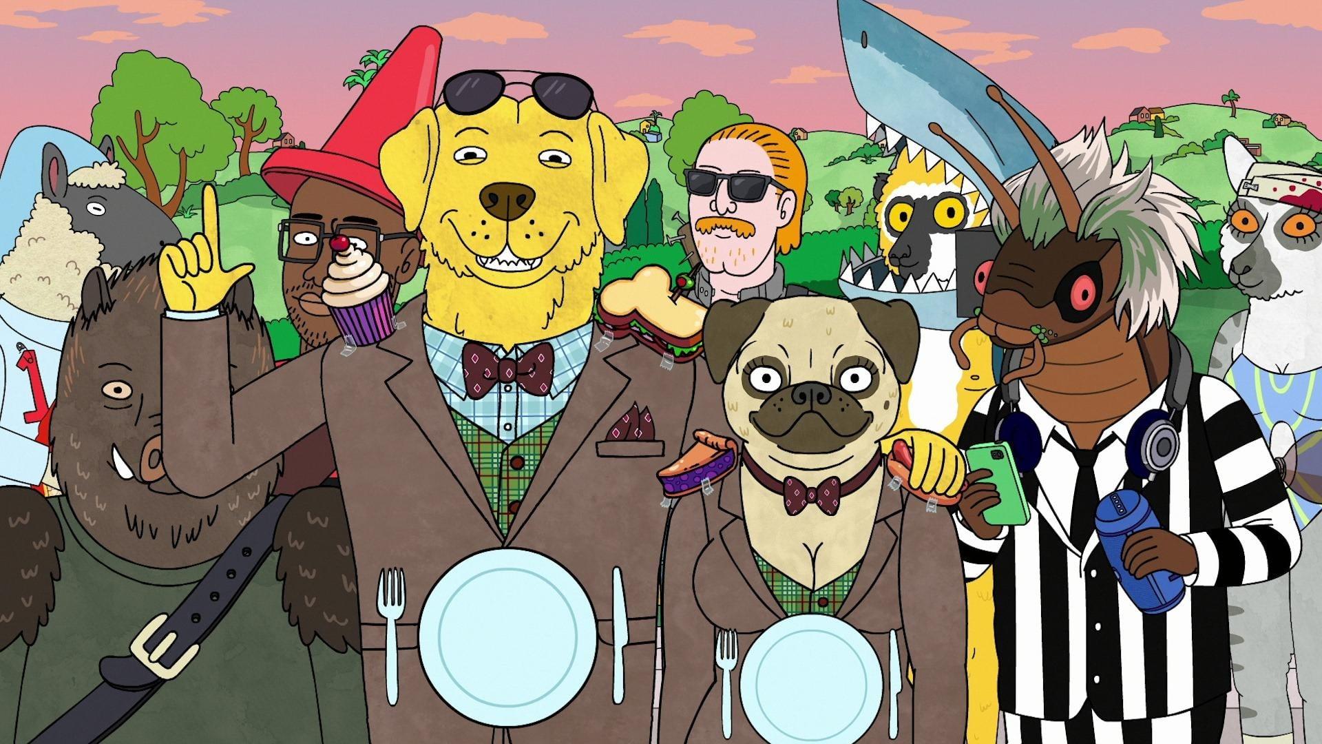 BoJack Horseman Season 5 :Episode 8  Mr. Peanutbutter's Boos