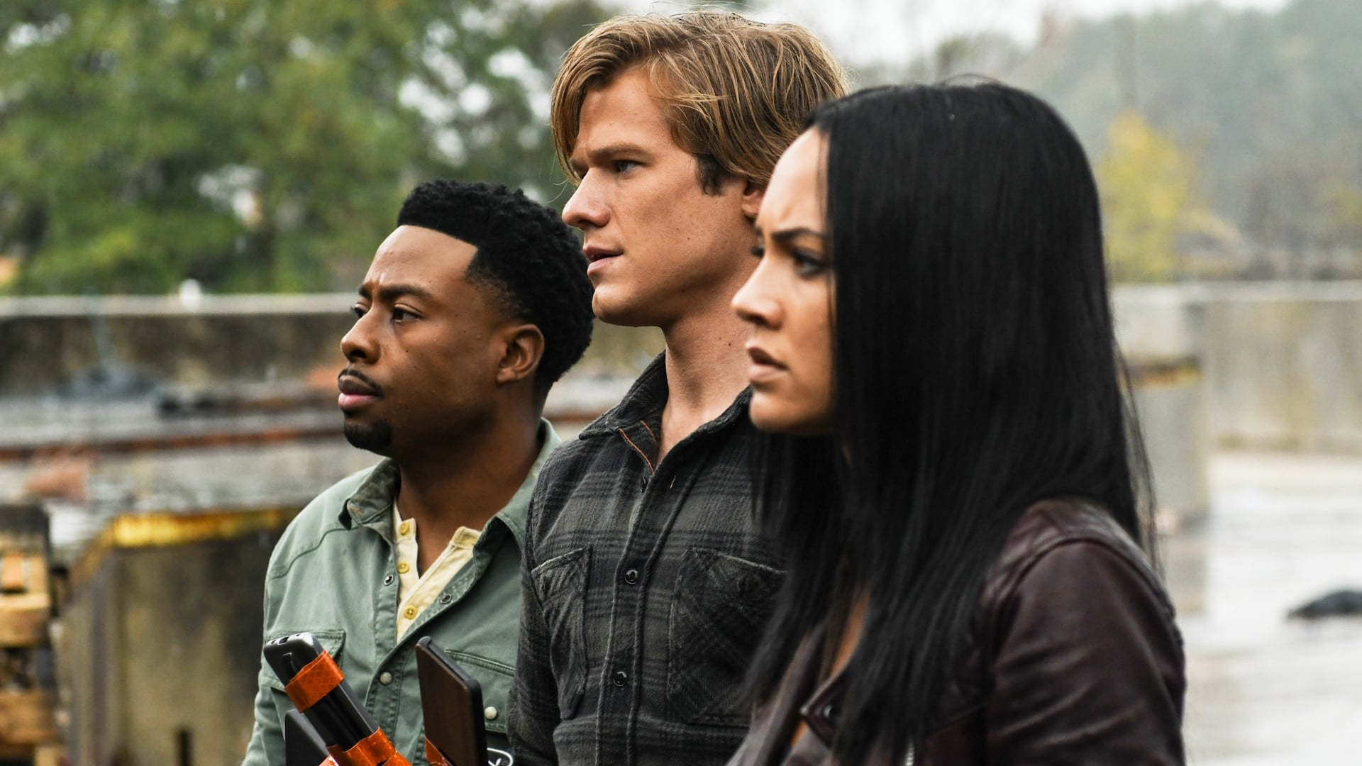 MacGyver Season 3 :Episode 12  Fence + Suitcase + Americium-241